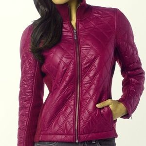 Prana diva jacket s magenta fuschia dark p…